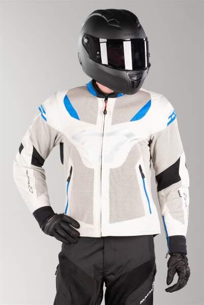 berik Bad Eye /étanche Veste de moto en tissu pour femme