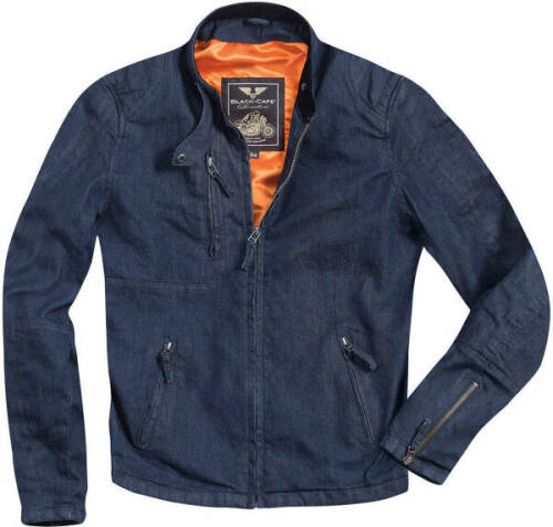 Modernage Veste de moto imperm/éable haute visibilit/é Bulls pour homme en tissu Cordura et blindage certifi/é CE Noir//orange