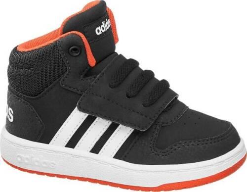 noir Adidas Hoops rose Mid Adidas yOvPwm8n0N