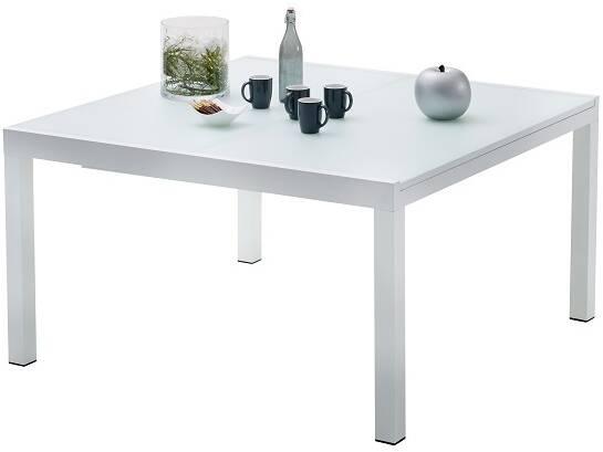 Table De Jardin Carree Whitestar 8 A 12 Personnes