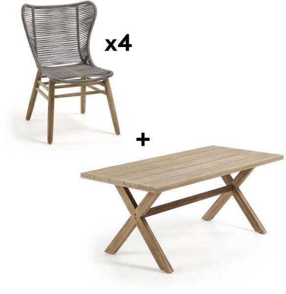 et jardin de catégorie la Equipement de mobilier Table de jL54AR3q