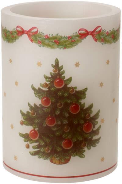 VILLEROY /& BOCH /'hiver Specials/' Bougie Grand /'de Noël motifs/' 7x12 cm