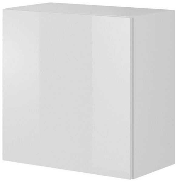 Demeyere 305540 Cobi Armoire Multifonctions avec 1 Porte//3 Rayons Panneau de Particules Blanc 35 x 34 x 175 cm