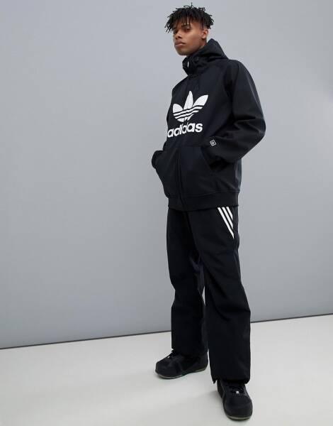 Adidas C veste de survêtement à capuche Noir