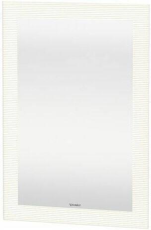 /éclairage LED /économiques, Interrupteur /à capteur, adapt/é aux pi/èces humides, installation horizontale ou verticale oneConcept Goldmund Miroir mural 80x60cm