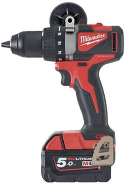 Milwaukee M18CHX-502X 18 V Fuel Sans Balais SDS 2x 5.0Ah Batteries Perceuse à percussion