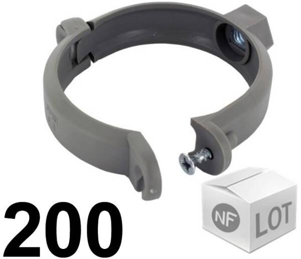 Embase cheville  lot 50 pièces Colliers de serrage Rilsan Noir 265 mm x 9 mm