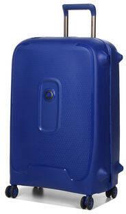 Delsey Maputo Valise 4 Roues Bleu fonc/é 76 cm