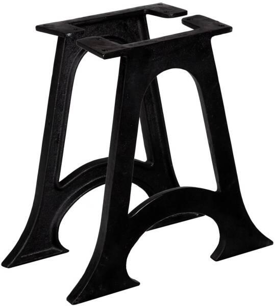 table XL' brossé de en Pied acier 75 'KARO rCxBdeo
