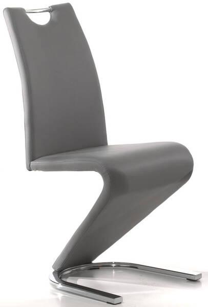 lot Chaise Blanc de salle à ANCONA cuir de 2 manger uTOZwiPkX