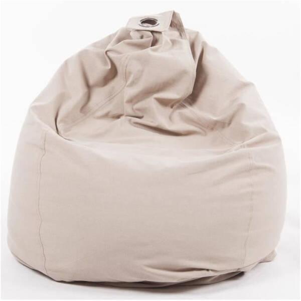 Poire Coton SALSA Aubergine 80x120 cm
