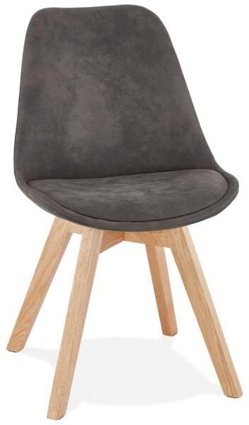 chaise design grise grise design chaise pu H9eYEDIW2