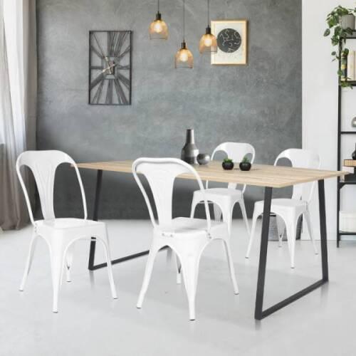 lot de chaises de cuisine