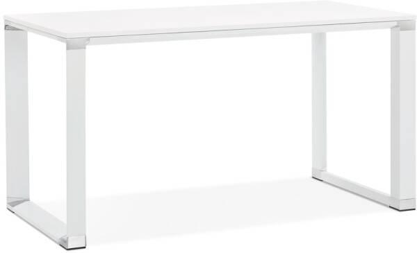 en métal droit bois 'XLINE' Noyer design et finition Bureau b7fgvIYy6