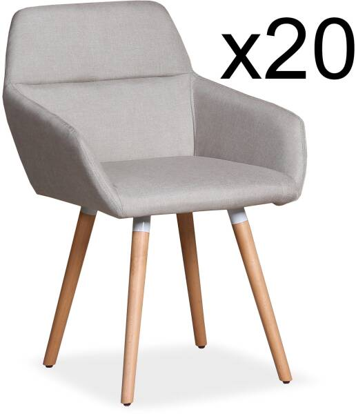 fauteuil scandinave tissu jaune