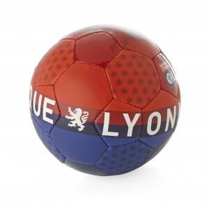 Ballon Football Loisir Rouge Lyon Ballon Supporter t5 Ol boutique Taille Unique