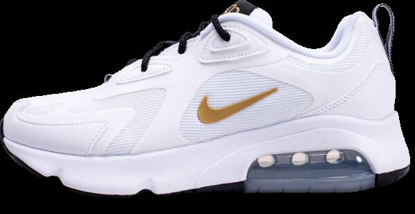 NIKE AIR MAX 200 BLANC OR FEMME Nike air max 200 femme