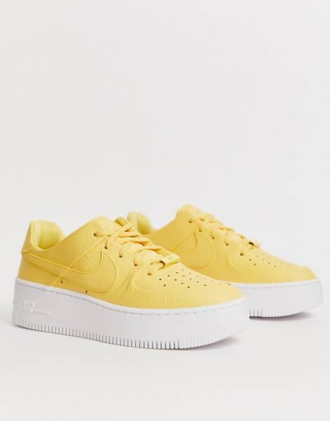 air force 1 virgule jaune