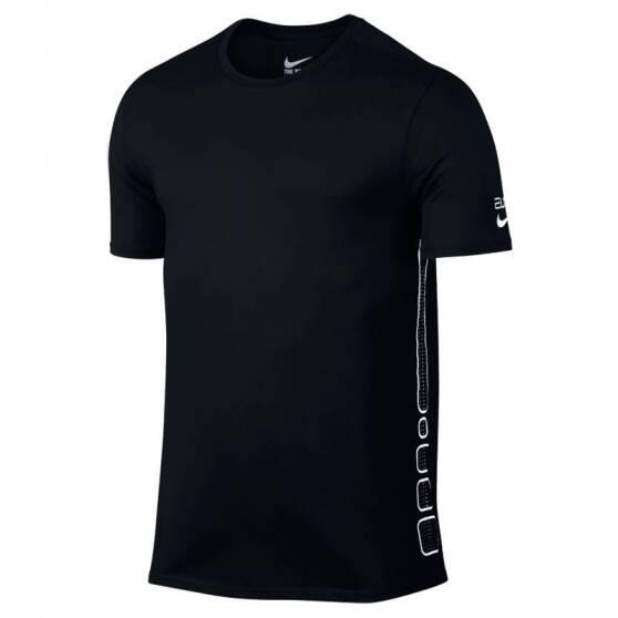 Nike T Shirt NO PAIN NO GAIN Hommes S bleu foncé